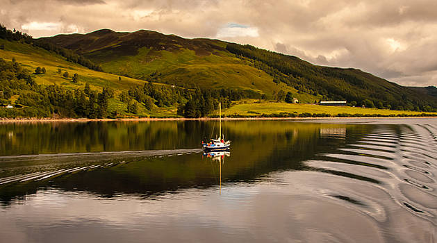 Sailing in Scotland by Kathleen McGinley