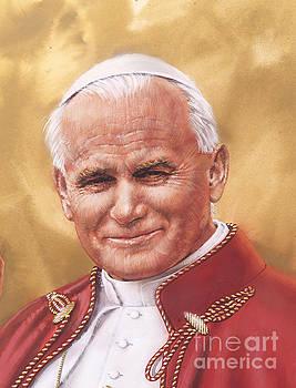 Saint Pope John Paul II by Dick Bobnick