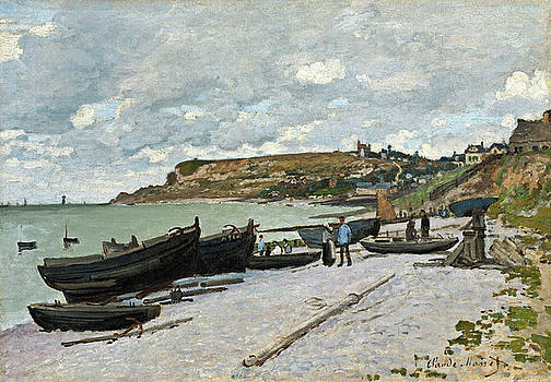 Claude Monet -  Sainte-Adresse