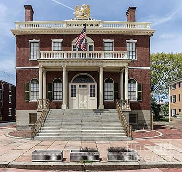 Salem Custom House by Thomas Marchessault