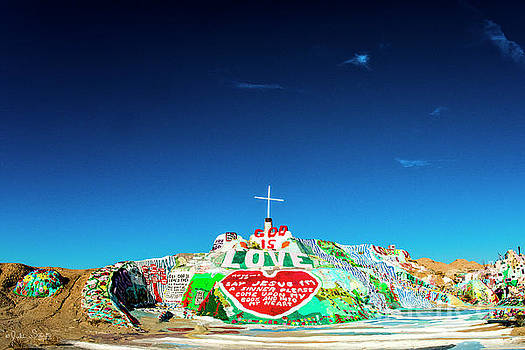 Julian Starks - Salvation Mountain Mosaic #5