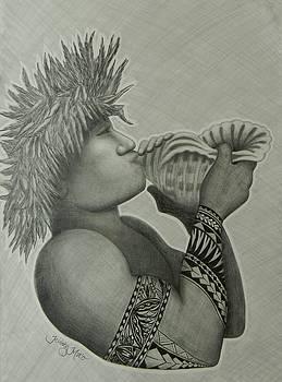 Samoan Taulima by Kristy Mao