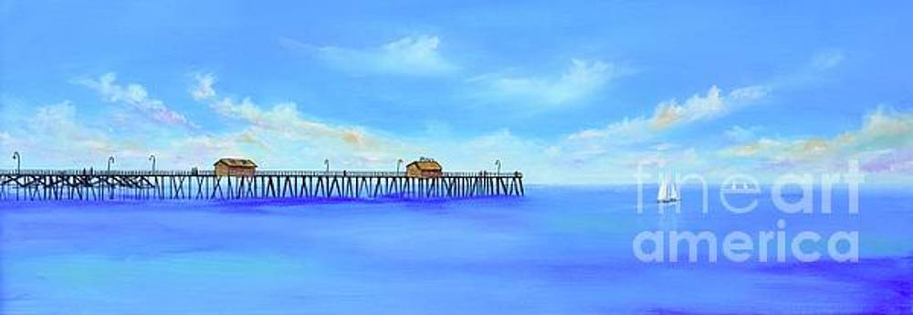 San Clemente Pier by Mary Scott
