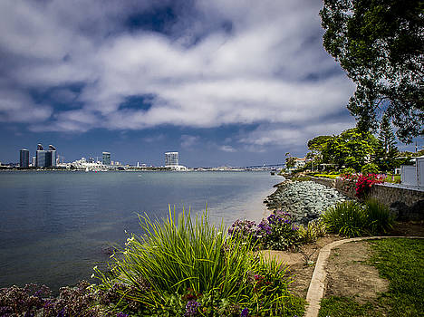 San Diego Bay by Randall Dunphy