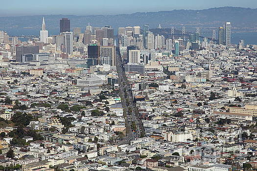 San Francisco California From Twin Peaks 5D28037 by San Francisco
