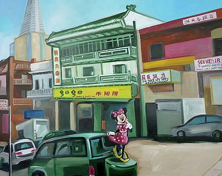 San Francisco by Carmen Stanescu Kutzelnig