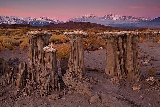 Sand Tufa Sunrise by Nolan Nitschke