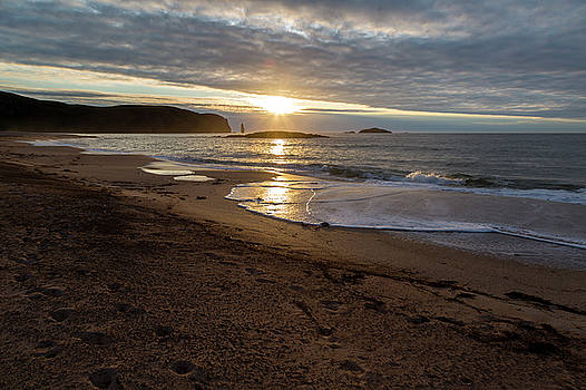 Sandwood Bay Sunset by Derek Beattie