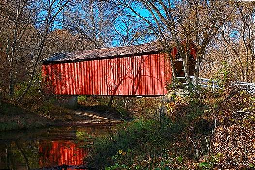 Sandy /Creek Covered Bridge, Missouri by Steve Warnstaff