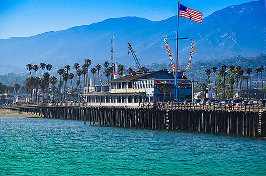 Santa Barbara Pier by Dany Lison