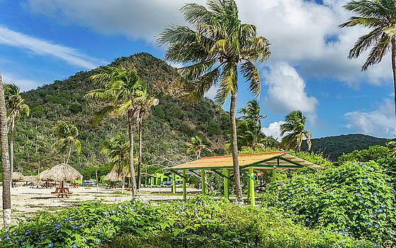 Santa Cruz Beach - Curacao Views by Gail Johnson