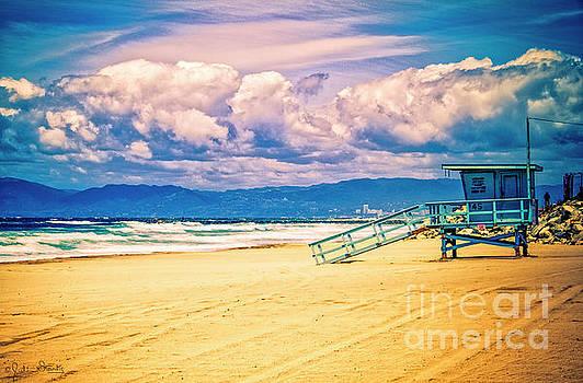 Julian Starks - Santa Monica Beach Colorful day