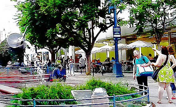 Santa Monica Promenade by Gabby Tary