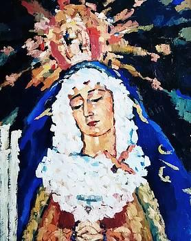 Santa Dolorosa by Nelya Pinchuk
