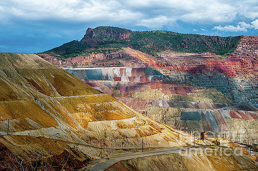 The Colors of the Santa Rita Mine by Stephen Whalen
