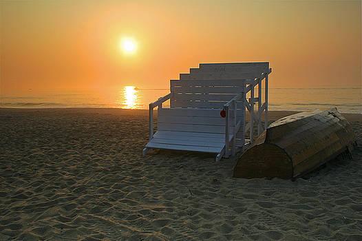 Sea Girt Sunrise by Kelly S Andrews