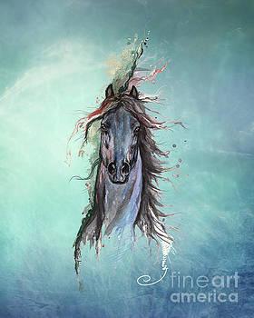 Sea Horse by Angel Ciesniarska