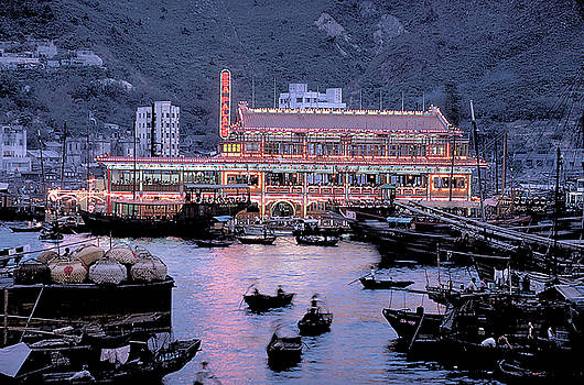 Sea Palace Floating Restaurant in Hong Kong by Carl Purcell