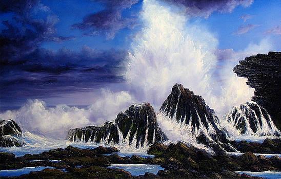Sea Spray by John Cocoris