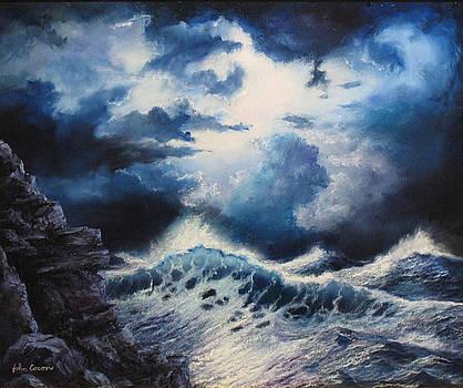 Sea Storm by John Cocoris