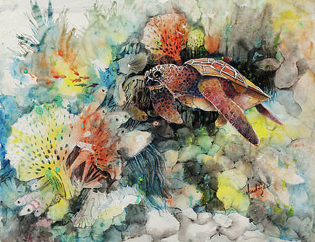 Sea Turtle  by Mary DuCharme