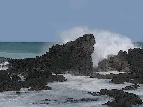 Seascape 2 by Michaelalonzo Kominsky