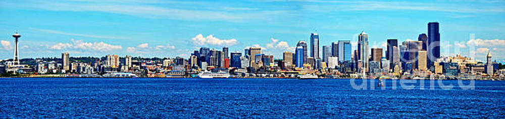 Seattle Skyline by Frank Larkin