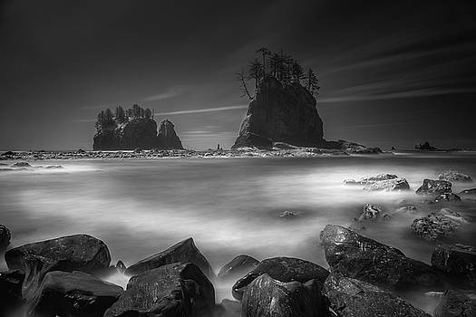 Second Beach long exposure by William Freebilly photography