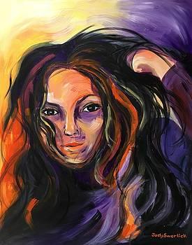 Self-Portrait  by Judy Swerlick