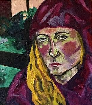 Self Portrait by Kendall Wishnick Adams