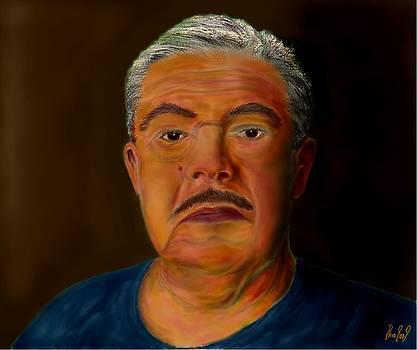 Selfportrait by Helmut Rottler
