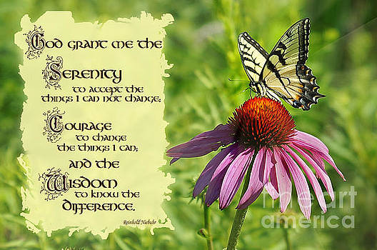 Serenity Prayer by Robin Clifton