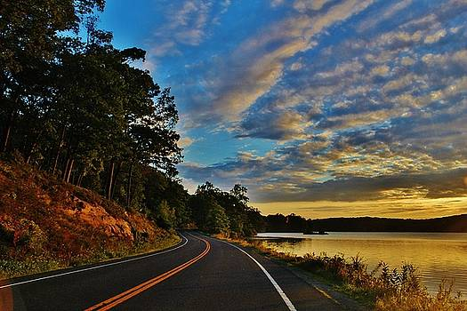 Seven Lakes Drive by Thomas McGuire