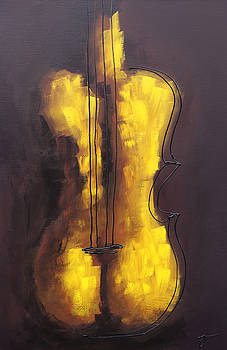She is Violin by Bojana Randall