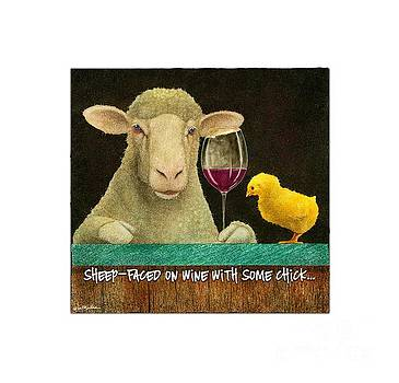 Will Bullas - sheep faced on wine with some chick...