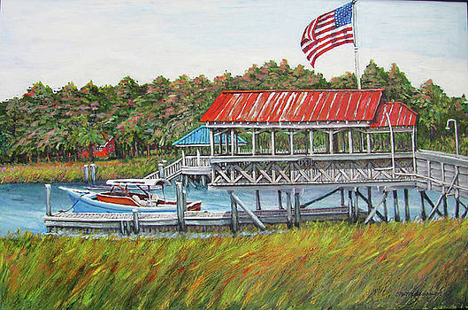 Shem Creek Gnat Bar by Thomas Michael Meddaugh