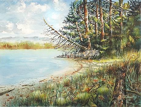 Shoreline shapes by Dumitru Barliga
