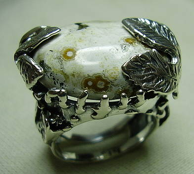 Silver Ring-jasper by Jonatan Kor