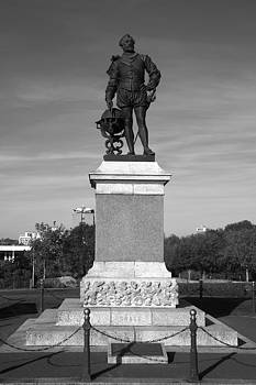 Sir Francis Drake Statue by Chris Day