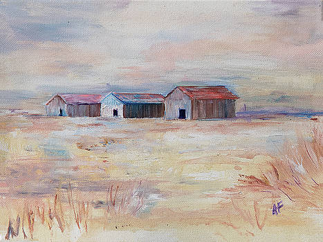 Sister Barns by Amy Fissell