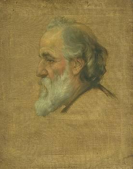 Sketch of Alphonse Legros by Charles Holroyd