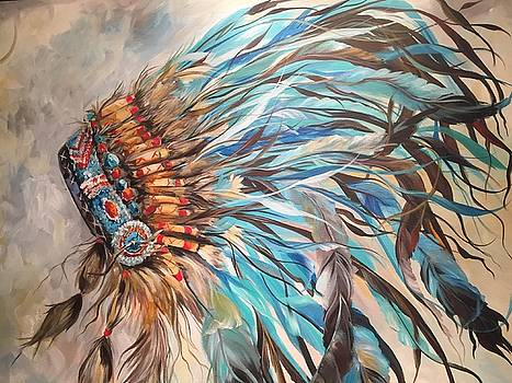 Sky Feather by Heather Roddy