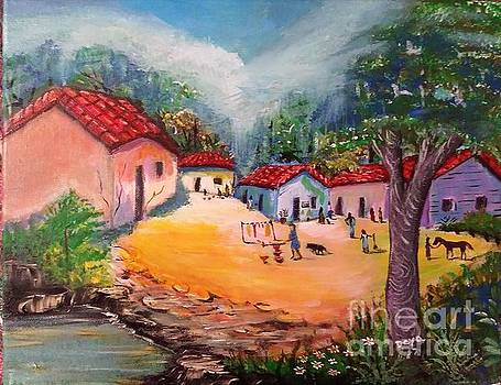 Small Village by Deyanira Harris