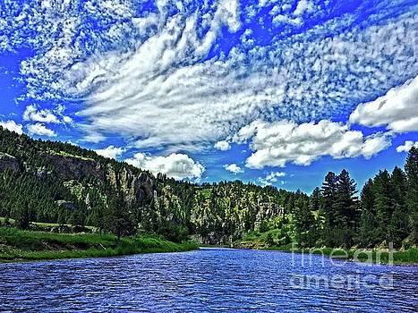 Smith River Montana by Joseph J Stevens