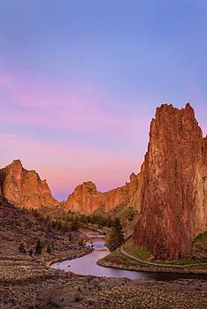Smith Rock Sunrise by Greg Vaughn