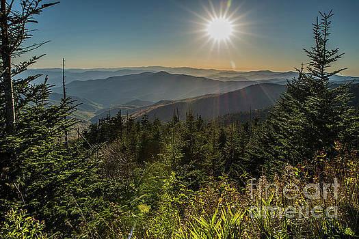 Smoky Mountain View by Patrick Shupert