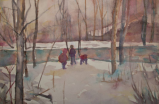Snow by Donna  Pereira