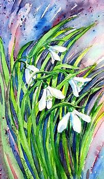 Snowdrops in the Wind   by Trudi Doyle