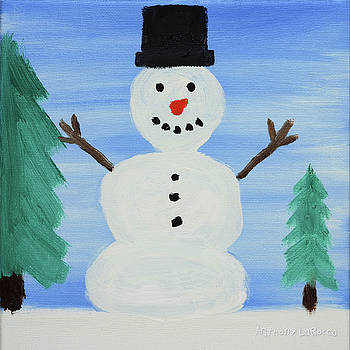 Artists With Autism Inc - Snowman