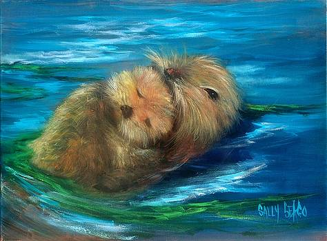 Snuggling by Sally Seago